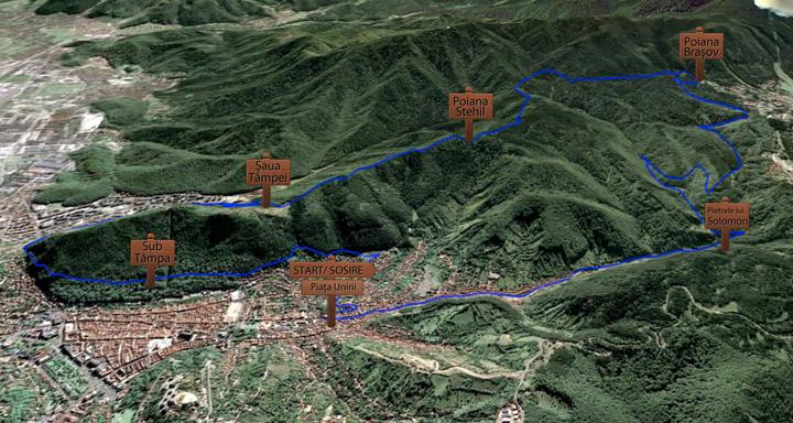 Traseu Semimaraton 2013